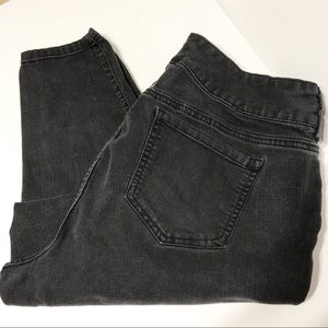 Torrid / black faded jegging / 18short